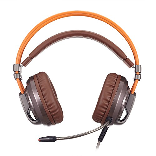 XIBERIA-V10-PC-Gaming-Headphones-Over-ear-USB-Headset-with-Microphone-Volume-Control