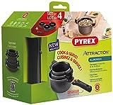 Pyrex-Attraction-Set-de-3-Casseroles-anti-adhsive-manche-amovible-et-poignes-de-service-Tous-feux-dont-induction-16-18-20-cm
