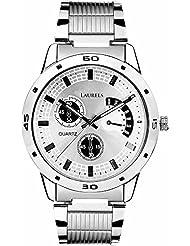 LAURELS ORIGINAL Analogue Silver Dial Men's Watch -Laurels-Lo-Mtx-0707