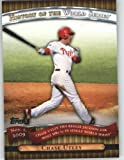 2010 Topps Series 2 Specialty Insert: History of the World Series Baseball Card #HWS24 Chase Utley ( Ties Reggie Jackson for most HRs -5 ) Philadelphia Phillies - MLB Trading Card