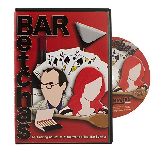 Magic Makers Bar Betchas DVD Starring Simon Lovell, Great Bar Bets to Win a Free Drink Every Time! - 1