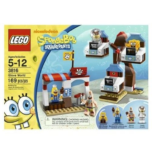 LEGO SpongeBob SquarePants Glove World Amazon.com