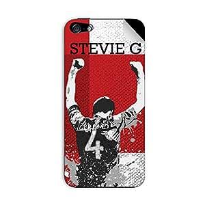 ezyPRNT Iphone 5/5s Steven Gerrard Football Player mobile skin sticker