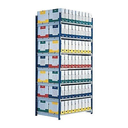 Fast paperflow estantería rangeco plus de 7 estantes de 70cm.dimensiones 1000x2000mm.