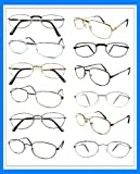 READING GLASSES Wholesale Lot 24 Pair METAL All +2.50