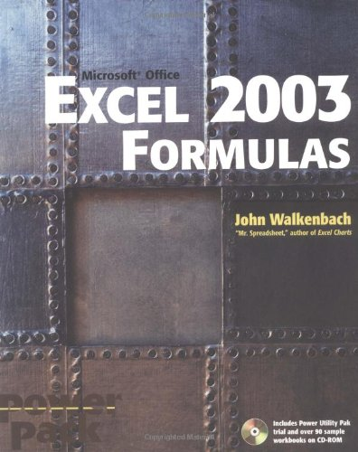 Excel 2003 Formulas front-594979
