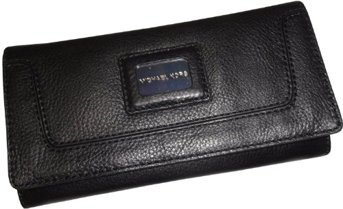 MICHAEL Michael KorsMichael Kors Brookville Black Wallet