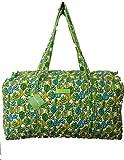 Vera Bradley Large Duffel Travel Bag, Lime's Leaf
