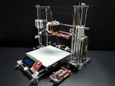 [Sintron] Ultimate 3D Printer Full Complete Kit for DIY Reprap Prusa i3 + RAMPS 1.4, Mega 2560, MK8 Extruder, MK3 Heatbed, Stepper Motor and LCD Controller