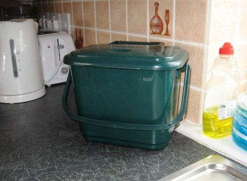 Be Green Odour Control 5lt Compost Caddy With Filter