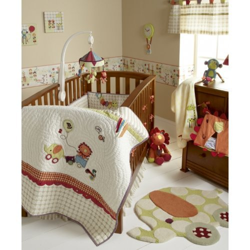 Mamas & Papas Jamboree Baby Bedding Set (4-piece)