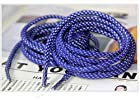 165cm 65'' 3M Reflective Rope Lace Shoelaces for Lebron XI lbj jordan X Kobe (Sapphire Blue)
