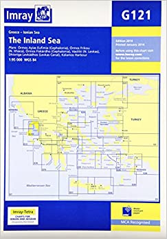 Imray Chart G121: The Inland Sea: Amazon.co.uk