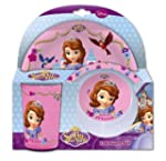 Sofia the First 1-Piece Melamine Disn...