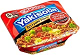 Maruchan Yakisoba, Teriyaki Beef Flavor, 4-Ounce Microwavable Containers (Pack of 8)