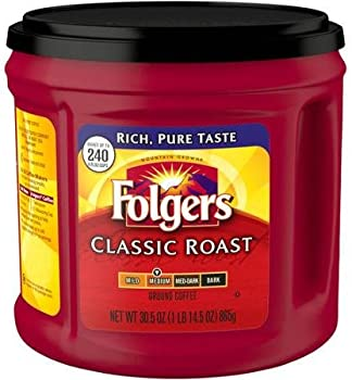 Folgers Classic Roast Ground Coffee Can