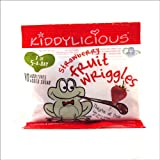 Kiddylicious 12 Month Strawberry Fruit Wriggles 12g