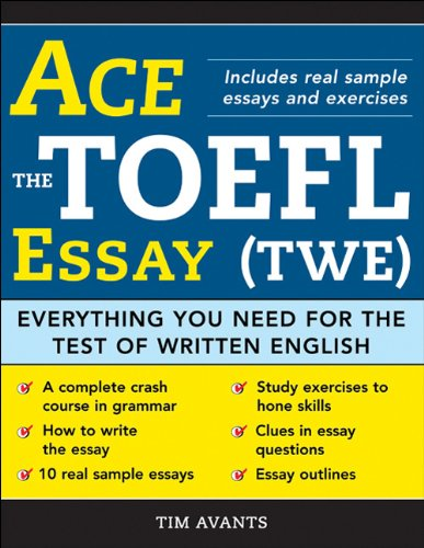 Ace the TOEFL Essay (TWE): Everything You Need for the Test of Written English (Ace The Ielts compare prices)