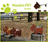 Motz Tiny Wooden Pet Speaker for iPod and MP3 Player (100% Made in Handicra ....