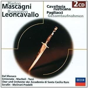 Cavalleria Rusticana/Pagliacci.(Ga)