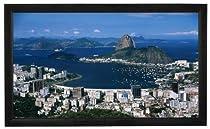 "Elitech 120"" Fixed Frame Projector Screen (16:9) HC Grey"