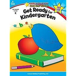 Get Ready for Kindergarten: Gold Star Edition (Home Workbooks)