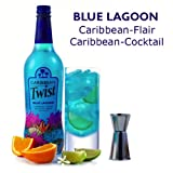 Caribbean Twist - Blue Lagoon - Rum Premix Drink - 70cl Bottle