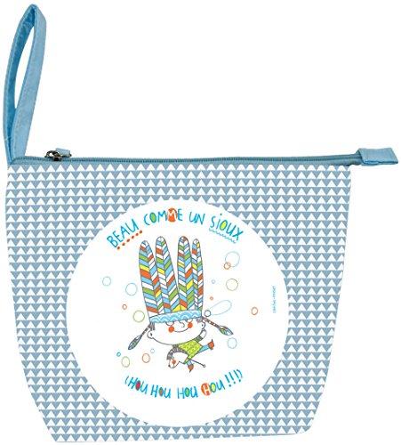 incidence-paris-trousse-de-toilette-enfant-leo-et-lulu-garcon-24-cm-bleu
