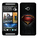 Diabloskinz Vinyl Adhesive Skin, Decal, Sticker for the HTC One Skin - Man Of Steel