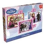 Disney Frozen Trio Jigsaw Puzzles