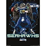 "Seattle Seahawks - Quarterback NFL 22""x34"" Art Print Poster at Amazon.com"