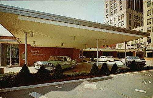 bank-of-the-commonwealth-auto-bank-detroit-michigan-original-vintage-postcard