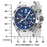 Nautica Men's N14537G NST Round Chronograph Resin Band Watch