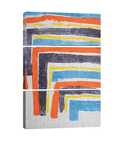 Heather Chontos It Layers Up Gallery Wrapped Triptych Canvas Print