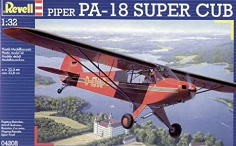 Revell - Maquette - Piper Pa-18 Super Cup  - Echelle 1:32