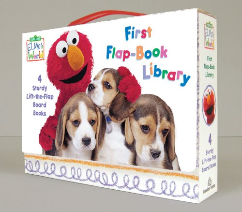 Elmo's World: First Flap-Book Library (Sesame Street) (Sesame Street Elmo's World)