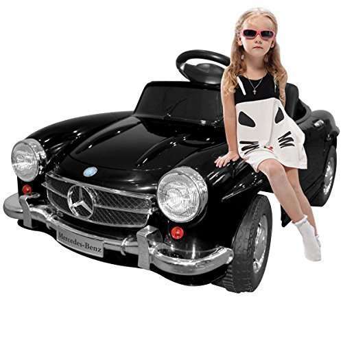 Giantex Black Mercedes Benz 300sl AMG Rc Electric Toy Kids Baby Ride...