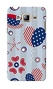 CimaCase American Abstract Designer 3D Printed Case Cover For Samsung Galaxy On5