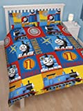 Thomas the Tank Engine 'Power' Double Rotary Duvet and Pillowcase Set