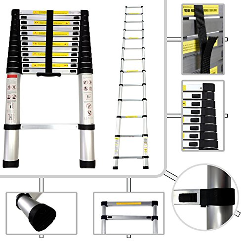 Teleskopleiter-380-Meter-aus-Aluminium-Norm-EN131-13-Sprossen