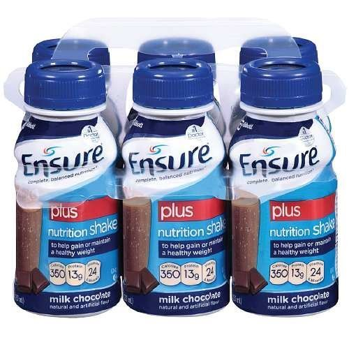 ensure-plus-ready-to-drink-nutrition-shake-8-oz-6-ea-milk-chocolate-3-pack-by-abbott-laboratories