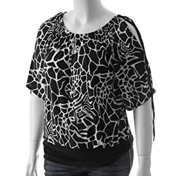 be lush womens plus size banded bottom top at amazon women
