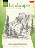 Drawing: Landscapes with William F. Powell: Learn to paint step by step (How to Draw & Paint)