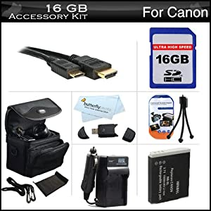 IS, SX510 HS Digital Camera Includes 16GB High Speed SD Memory Card