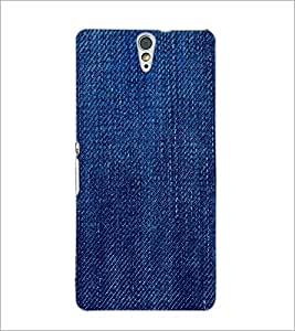 PrintDhaba Denim D-2043 Back Case Cover for SONY XPERIA C5 ULTRA (Multi-Coloured)