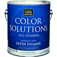 Color Solutions Self-Priming Latex Satin Interior Wall Paint-INT SAT EX DEEP BS