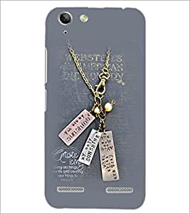 PrintDhaba Quote D-2309 Back Case Cover for LENOVO A6020a46 (Multi-Coloured)