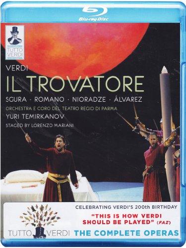 Tutto Verdi: Il Trovatore (Teatro Regio di Parma) [Blu-ray]