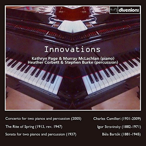 CD : BARTOK / MCLACHLAN / BURKE - Music For Two Pianos & Percussion