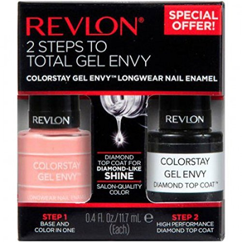 Revlon Colorstay Gel Envy Value Packs, Card Shark & Top Coat, 0.8 Fl Oz (Color Stay Gel Envy Nail Polish compare prices)